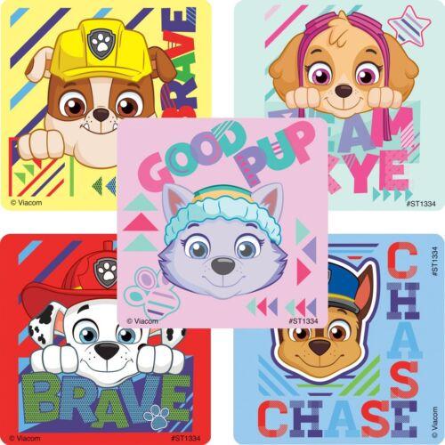 Paw Patrol Sport Stickers Paw Patrol Birthday Favours Paw Patrol Stickers x 5