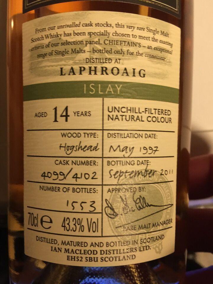 Spiritus, Laphroaig