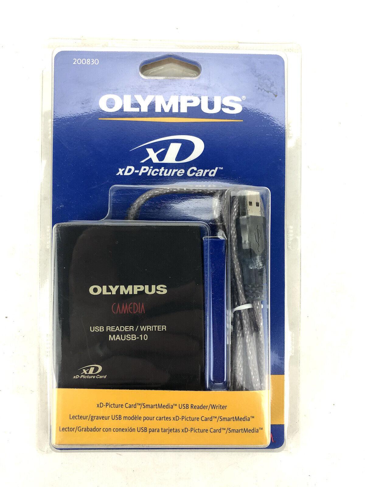 Olympus MAUSB-10 USB Reader / Writer - XD or Smart Card - NEW