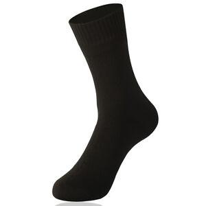 Professional-Waterproof-Men-Socks-Sport-Cycling-Comfort-Bamboo-fiber-Socks-Black