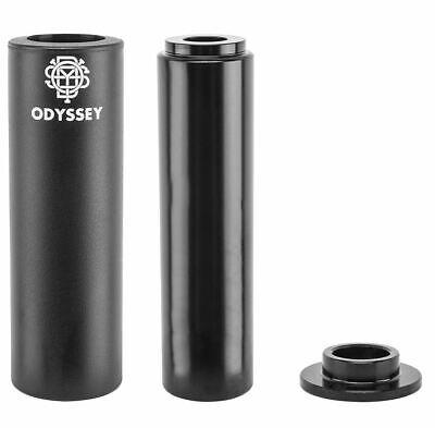 "Odyssey Graduate Peg 4.75/"" Plastic Sleeve 14mm w// 3//8/"" Adaptor BMX Bike Black"