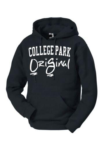 College Park OriGinal Hoodie Blk//White print
