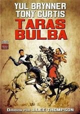 TARAS BULBA (1962 Yul Brynner) - DVD - PAL  Region 2 - New
