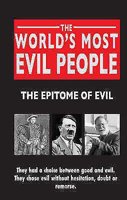 1 of 1 - The World's Most Evil People, Castleden, Rodney, New Book