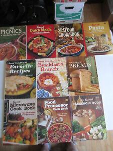 SUNSET-COOKBOOKS-LOT-OF-10-Casserole-Seafood-Pasta-Breakfast-amp-Brunch-Cook-Books