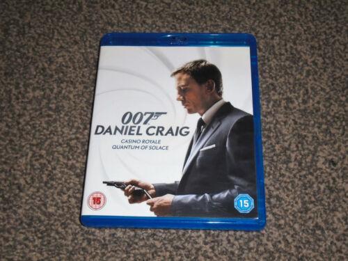 1 of 1 - CASINO ROYALE QUANTUM OF SOLACE : BOND 007 DANIEL CRAIG BLU RAY SET(FREE UK P&P)