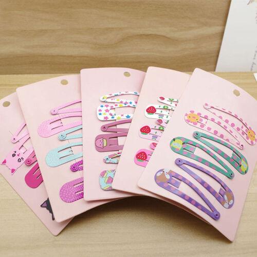 6Pcs//lot Infant Baby Hair Clip Boutique Hairpins For Children Girls Kids Hair