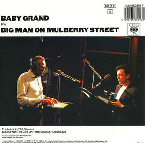 BILLY-JOEL-ft-RAY-CHARLES-Baby-Grand-Big-Man-On-Mulberry-1987-Near-MINT