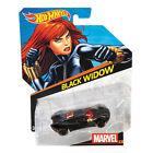 Hot Wheels Marvel Character Cars 1:64 Scale Die-Cast Vehicle: BLACK WIDOW (CGD59