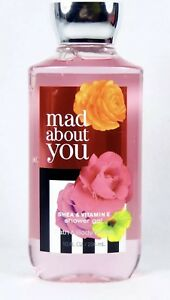 NEW BATH & BODY WORKS MAD ABOUT YOU SHOWER GEL WASH SHEA VITAMIN E SIGNATURE
