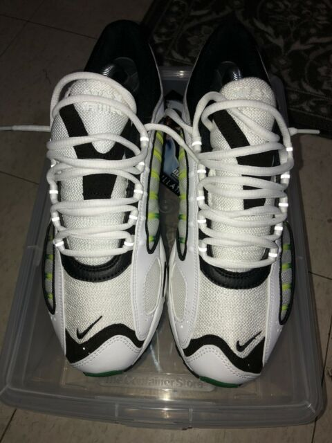 Nike Air Max Tailwind IV Size 8 White And Green