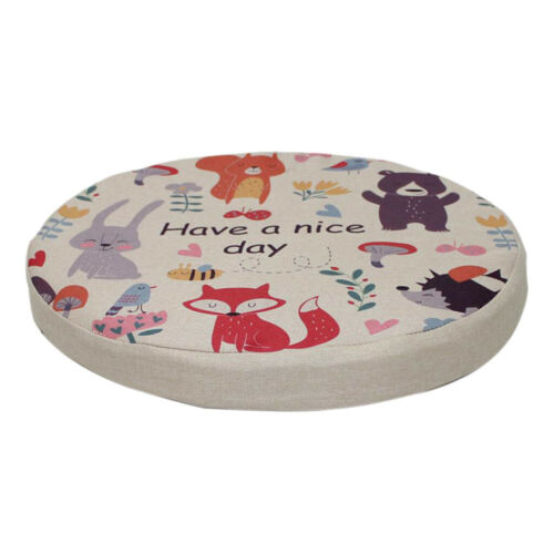 Non-slip Seat Cushion Circular Chair Cushions Round Mat Cover Pad 40cm