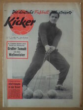 KICKER 13 -31.3. 1959 Juskowiak 1.FC Köln-Viktoria 2:2 Südamerika Meisterschaft