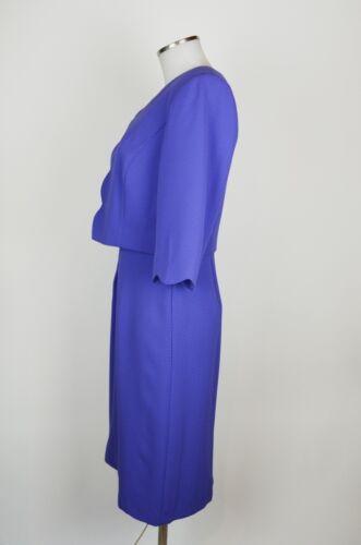 Gina Bacconi Etuikleid Blazer,Tasche lila Kleid Cocktail  neu m.Etikett dress