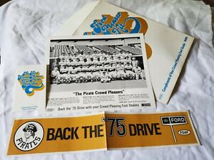 """""""The Ford Crowd Pleaser Pirate Kit"""" Promo Ford & 1975 Pittsburgh Pirates"""