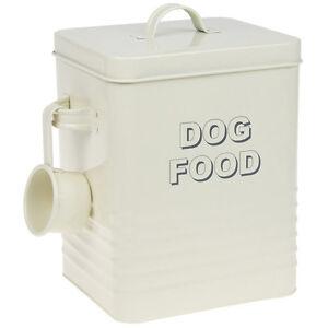 Enamel Dog Food Storage Bin