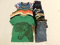 Boys Clothes Size 2t 24 Mo Summer Shirts Shorts Lot Brand Retail $332