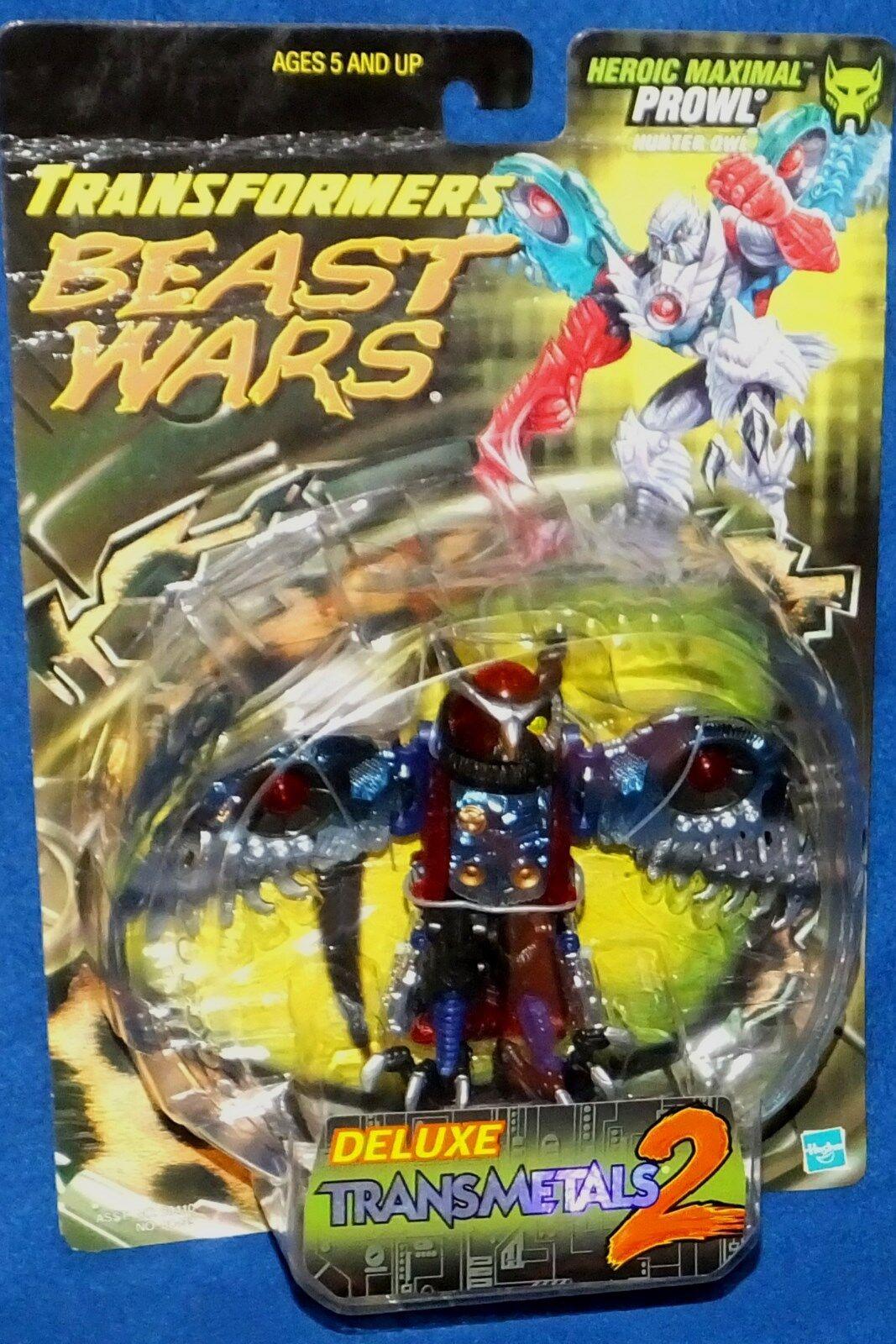 Transformers Beast Wars Heroic Maximal Transmetal 2 Prowl Nuovo 1999 Factory Seal