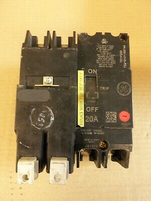 GE General Electric TEY220 20amp 2pole 480v circuit breaker  1 yr Warranty!