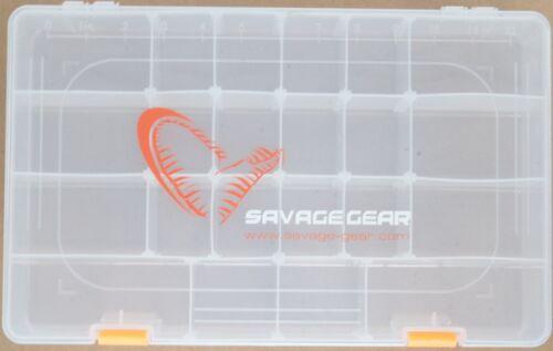 Tacklebox für Kunstköder und Zubehör Savage Gear Lure Box 36x22,5x8cm Angelbox