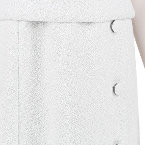 White Schouler stile e Us8 1950 Uk12 Boucle Cintura anni con vestito Proenza cintura 5d4PWzYn5