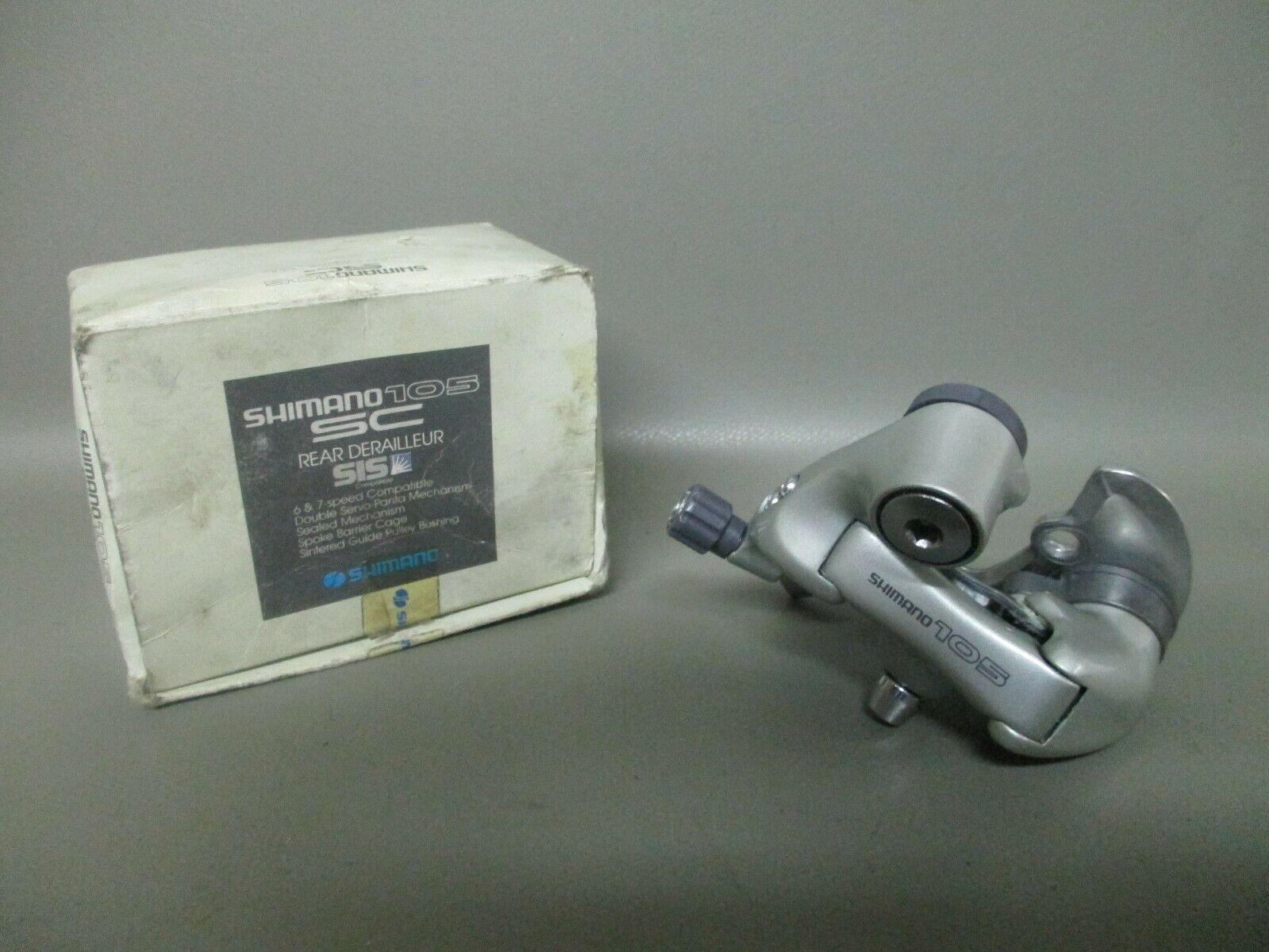 NOS Shimano 105  SC 1055 series FD-1055 rear derailleur - 7s rear mechs - parts  welcome to order