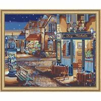 Plaid 21757 Paint By Number Kit, 20-inch By 16-inch, Starry Night , New, Free Sh on sale