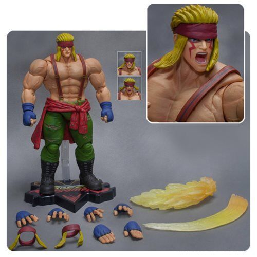 Storm Collectibles STREET FIGHTER V Neuf * Alex * Action Figure 1:12 Scale