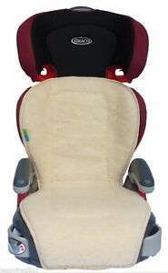 universal booster seat cover liner cushion cusion pad padding graco sheep wool ebay. Black Bedroom Furniture Sets. Home Design Ideas