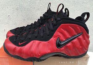 Original Nike Foamposite Pro Rojo De