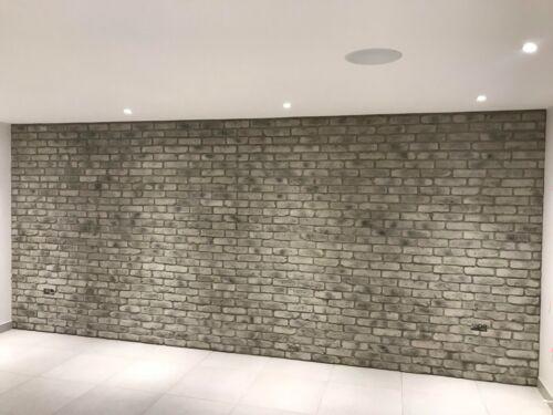 Smoked Grey Brick Slip BrickTile BrickCladding WallCladding SAMPLE