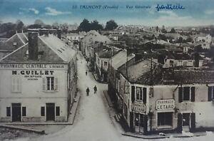 talmont saint hilaire carte Rare carte postale Talmont Saint Hilaire, Vendée, Pharmacie