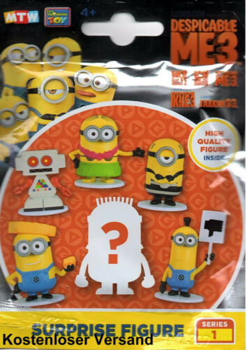 aléatoire Je-Simplement Incorrigible 3 sous-fifres Minifiguren 5 cm surprise pack