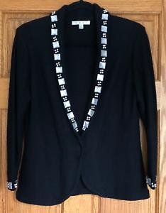 CAbi-Embellished-Cardigan-Sweater-484-Black-Size-M