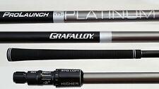 TaylorMade Grafalloy Platinum REGULAR LONG DRIVE DRIVER SHAFT+M1,R1,R15,M2,SLDR