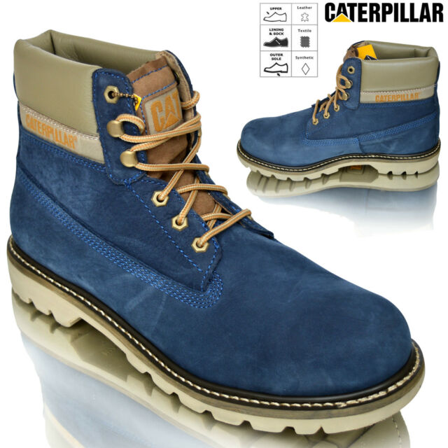 04ab573765d0b Mens Caterpillar CAT Colorado 6'' Leather Military Biker Ankle Boots Shoes  Size