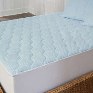 Twin-Full-Queen-Cal-King-Bed-Cooling-Gel-Mattress-Foam-Pad-Topper-Soft-Cover
