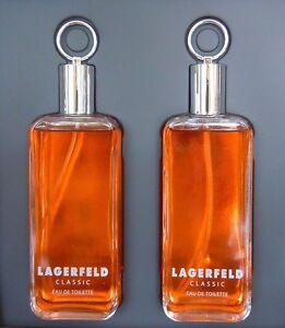Lagerfeld Classic 250 ml EdT (2 X 125ml)  Eau de Toilette NEU Klassisch Version