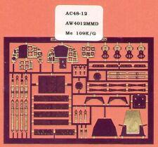 Airwaves 1/48 Messerschmitt BF 109g/k Etch per ARII/Revell Kit # aec48012