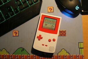 Nintendo Gameboy Color - Red/White Reshelled and Refurbished Great Condition