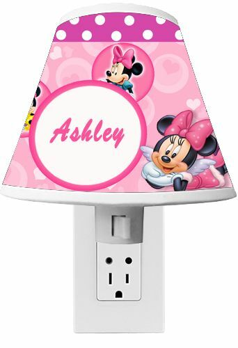Minnie Mouse Clubhouse Night light Room Decor CUSTOM NAME