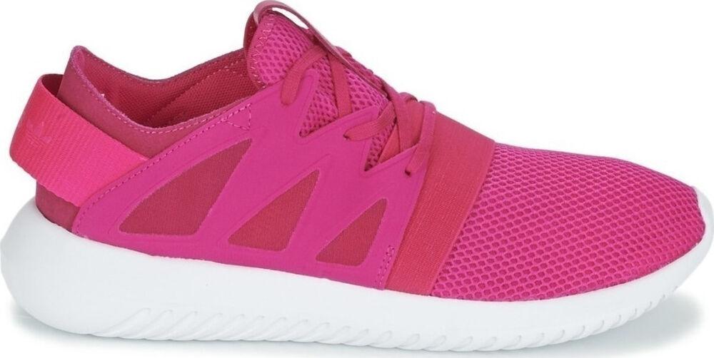 Adidas-tubulaire virale Femmes Baskets Rose UK5.5 (AQ6302)-