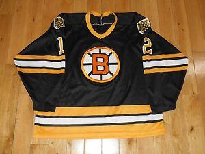 Vintage 90s CCM ADAM OATES BOSTON BRUINS Mens NHL Hockey Team ... 3100118f8