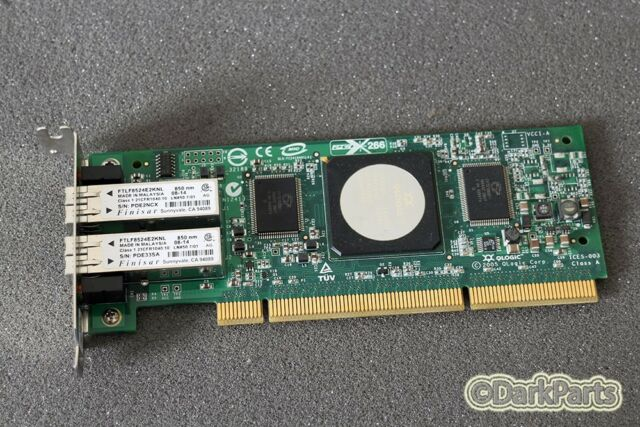 Qla2462 Fibre Channel Card 4gb Pci-x Card Sun 375-3294-01