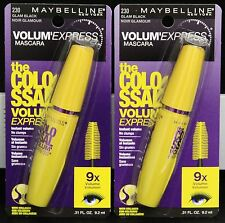 Maybelline The Colossal Volum' Express Mascara, Glam Black #230  2 Pcs.