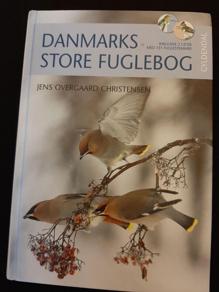 DANMARKS STORE FUGLEBOG, Jens Ove CHRISTENSEN, emne: dyr