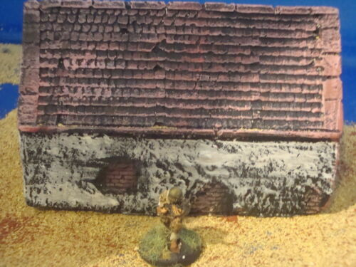 For wargames scenery and terrain buildings, A2 Painted Farm buildings 15mm
