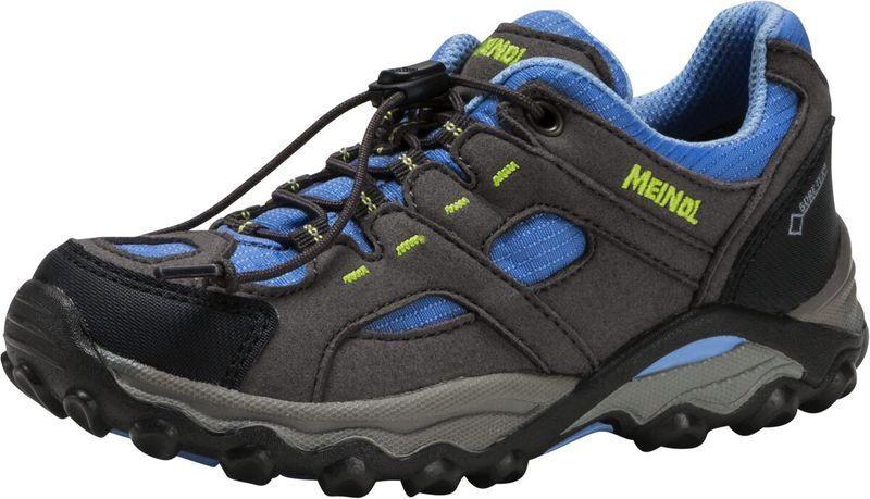 Meindl Kinder Wander Trekkingschuhe Lugo GTX® Anthrazit Blau Neu Neu Neu 4ea9a6