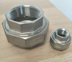"Union150# 304 Stainless Steel 2-1/2"" Inch NPT Brewing Pipe Fitting"