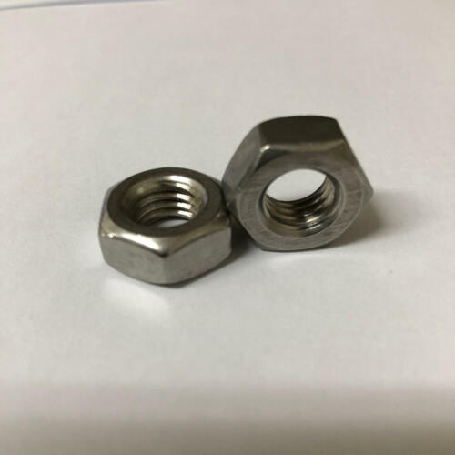 """IMPERIAL FINE HEX NUTS 3//8/"""" UNC FULL NUT A2 STAINLESS STEEL"""